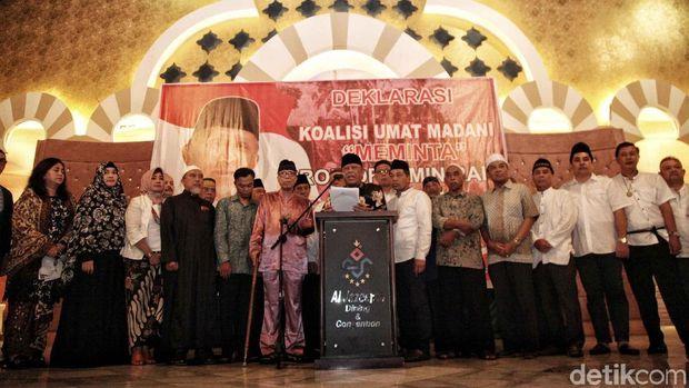 Amien Rais di Antara 'Koalisi Keummatan' dan 'Koalisi Ummat'