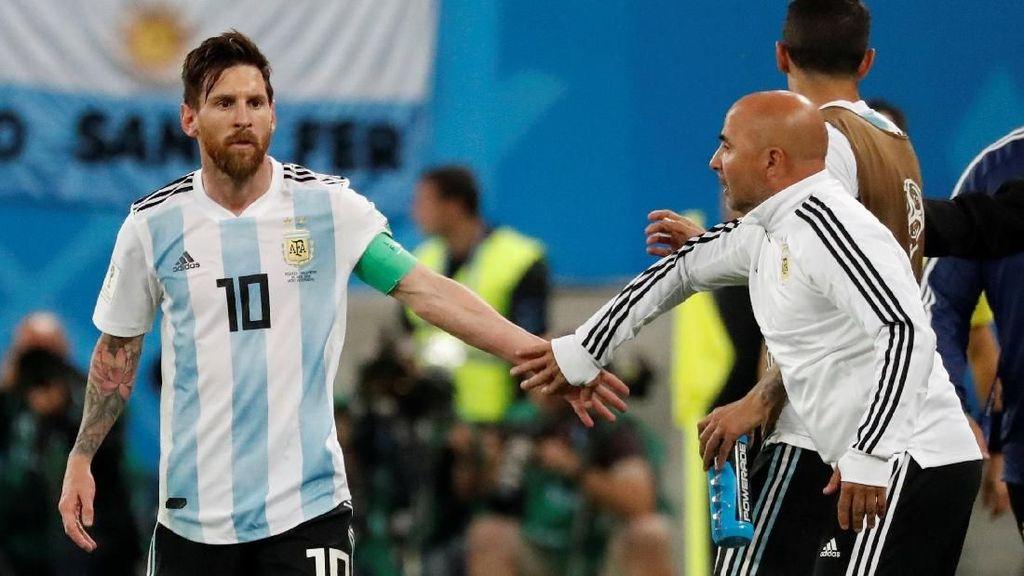 Video: Messi Bukan Peracik Taktik Argentina