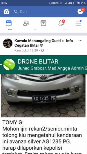 Viral, Nyambi Driver Grab Car, Satpol PP di Blitar Jadi Korban Begal