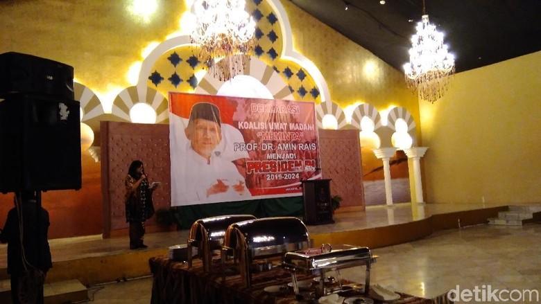 Koalisi Ummat Madani Deklarasi Minta Amien Rais Nyapres