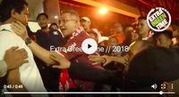 Ketua The Jakmania Ferry Indrasjarif terlihat dalam video