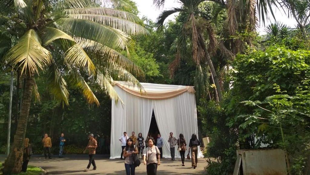 Gelar Open House, Rumah Rini Soemarno Diserbu Bos-bos BUMN