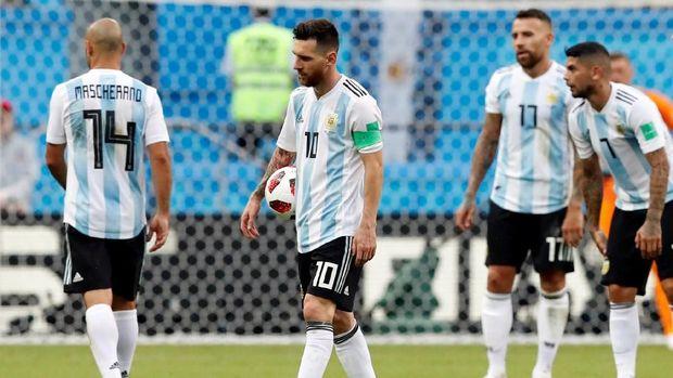Messi dan timnas Argentina sempat gagal beruji coba dengan Israel jelang Piala Dunia 2018.