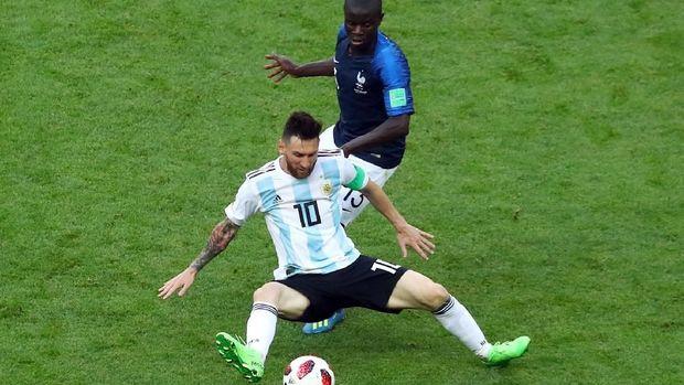 N'Golo Kante sukses meredam pergerakan Lionel Messi. Kini dia bersiap mematikan Kevin De Bruyne.