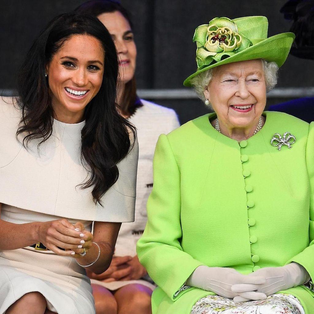 Sang Ayah Bikin Drama, Meghan Markle Didukung Ratu Elizabeth