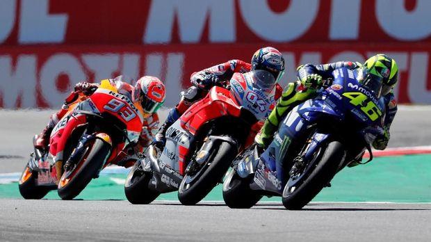 Valentino Rossi gagal finis kedua di MotoGP Belanda karena manuver dari Andrea Dovizioso.