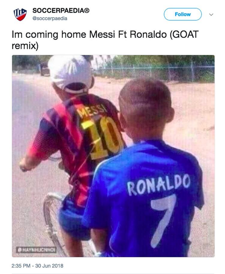 Meme Kocak Dan Sedih Ronaldo Dan Messi Tersisih Foto 11
