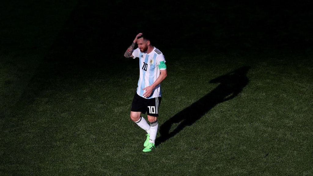 Messi Masih Suka Frustrasi Kalau Kalah