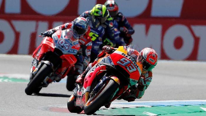 MotoGP 2018 disebut sedang seru-serunya saat ini (Foto: Yves Herman/Reuters)
