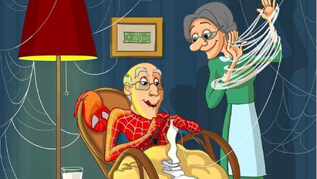 Ketika Superhero Menua dan Menikmati Masa Pensiun