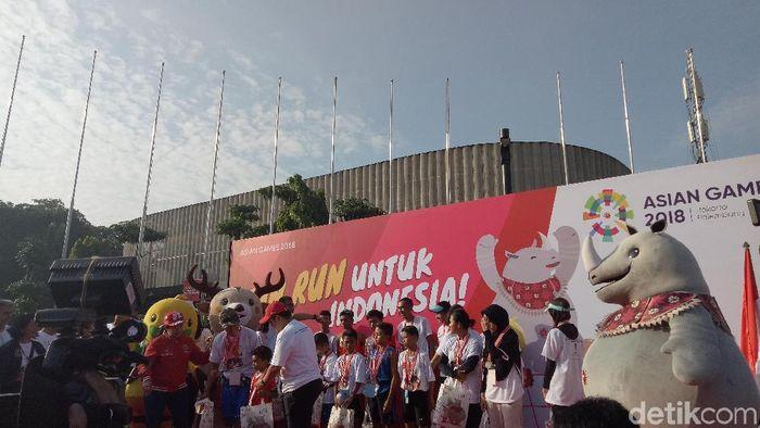 Acara Fun Run Asian Games 2018 (Foto: Amalia Dwi Septi)