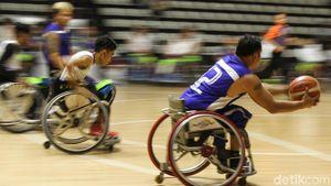 Kegigihan Atlet Basket Difabel di Test Event Asian Para Games 2018