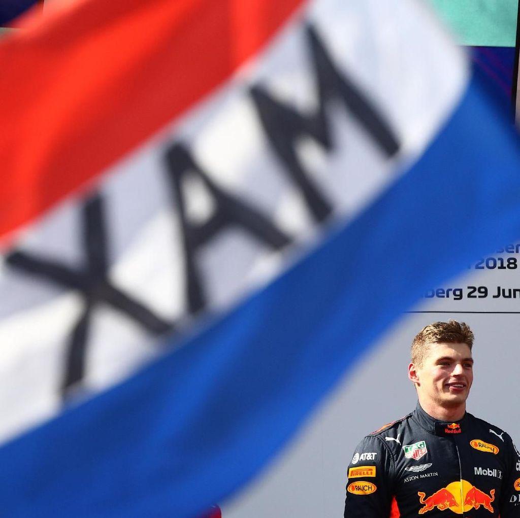Max Verstappen Juara, Duo Mercedes Out