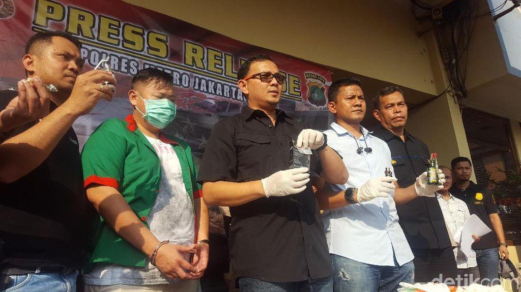 Polisi Buru PC Pemasok Sabu ke Artis Reza Bukan