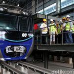 PLN Pasok Listrik 60 Juta VA untuk MRT