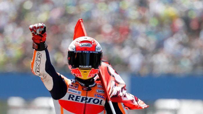 Pebalap Honda, Marc MArquez. (Foto: Yves Herman/Reuters)