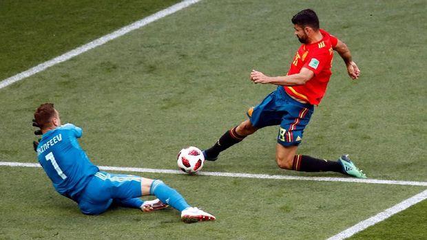 LIVE: Spanyol vs Rusia di Babak 16 Besar Piala Dunia 2018