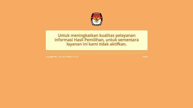 KPU 'Todong' Jokowi Rp35 M untuk Penguatan IT di Pemilu 2019