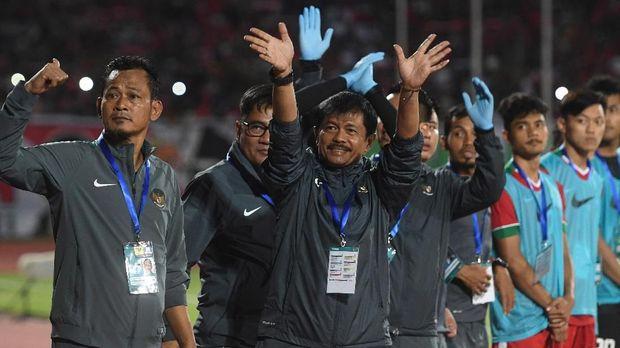 Indra Sjafi berharap bisa menemukan komposisi terbaik dari ajang PSSI Anniversary Cup.