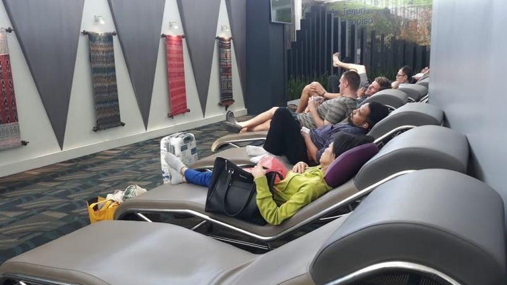 Rest Area di Bandara Kualanamu, Asyik Juga!