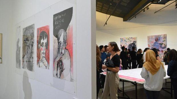 Natisa Jones Hadirkan Karya Terbaru di Pameran Tunggal 'Grotesk'