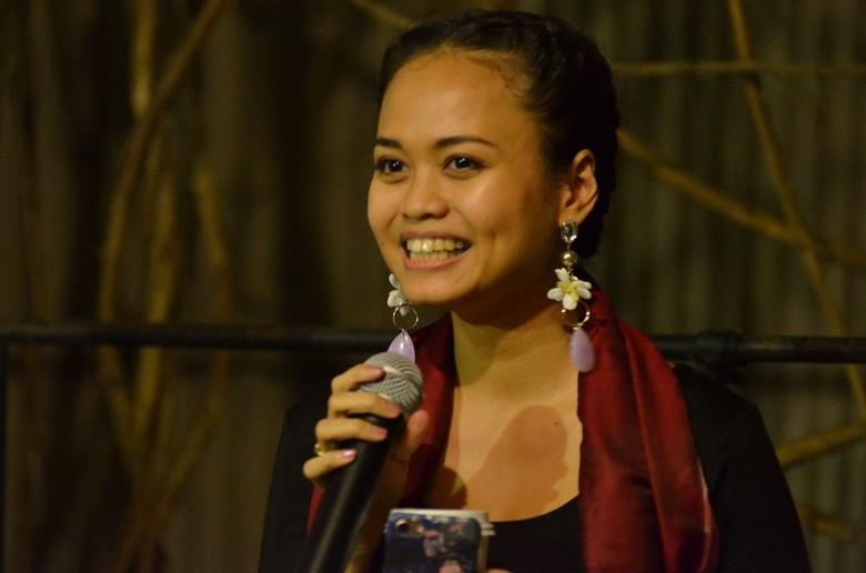 Natisa Jones Hadirkan Karya Terbaru di Pameran Tunggal Grotesk Foto: Komunitas Salihara/Witjak Widhi Cahya