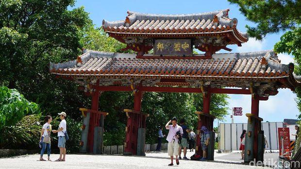 Gerbang kedua Kastil Shurijo (Masaul/detikTravel)