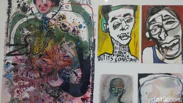 'Grotesk': Garis Bebas dan Nyeleneh di Karya Natisa Jones