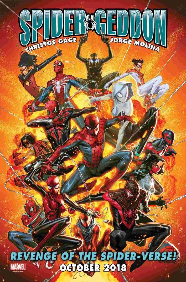 Bersiaplah... Komik Spider-Geddon Siap Menyapa Penggemar Spider-Man Foto: Istimewa