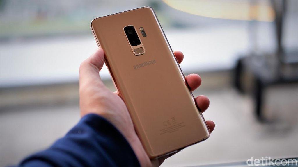 Unboxing Galaxy S9+ Sunrise Gold yang Pancarkan Kemewahan