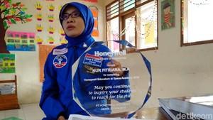 Hebat! Guru SD di Sleman Ikut Pelatihan Astronaut di Amerika