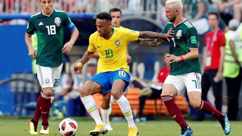 Video Highlights Brasil Vs Meksiko 2-0