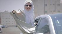 Viral, Video Ngerap Hijabers Arab Rayakan Izin Mengemudi