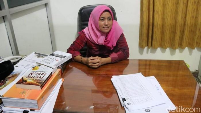Komisioner KPU Jepara, Ketua Divisi Perencanaan dan Data, Anik Sholihatun. Foto: Wikha Setiawan/detikcom
