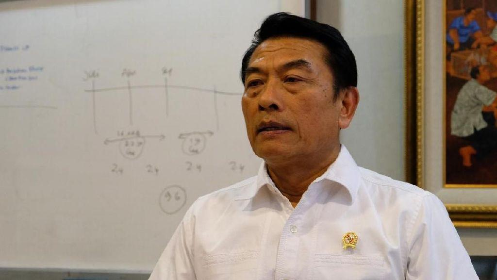 Moeldoko: Pembagian Jutaan Hektar Tanah ke Pengusaha Bukan di Era Jokowi