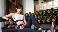 Selain cantik Saby pun hobi dalam beolahraga. Foto: Dok. Instagram/sabrinachairunnisa_
