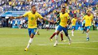Kalahkan Meksiko, Brasil Lolos ke Perempat Final