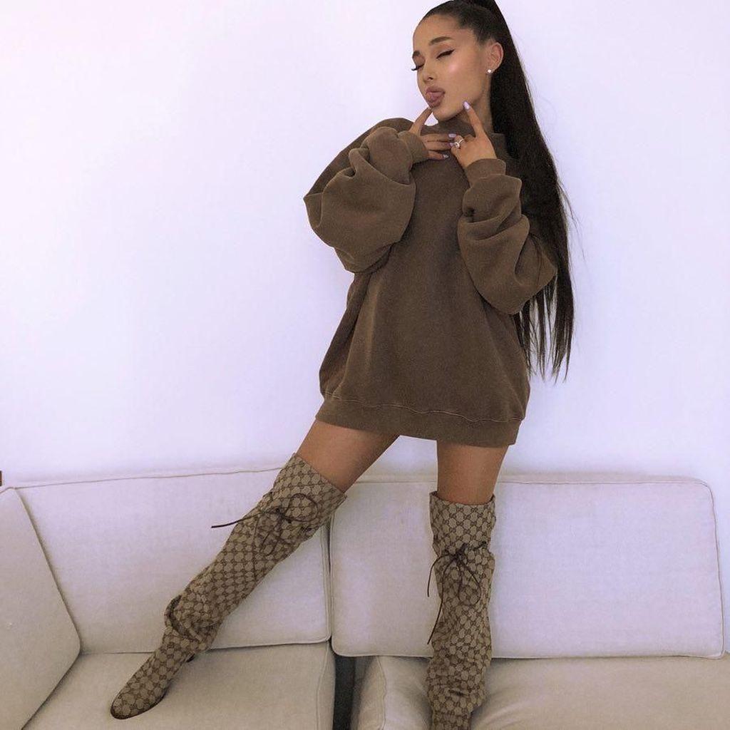 2 Minggu Ditinggal Mac Miller, Ariana Grande Tampak Lebih Baik