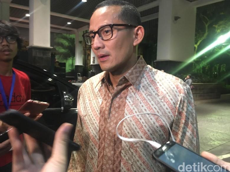 Sandi: Prabowo Ingin Partai Koalisi Kerucutkan Nama Buat Pilpres