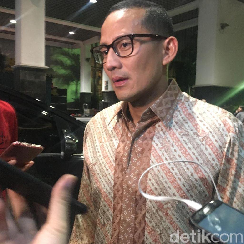 Sandi: Hari Ini Prabowo Ketemu Puan, Besok Bertemu SBY