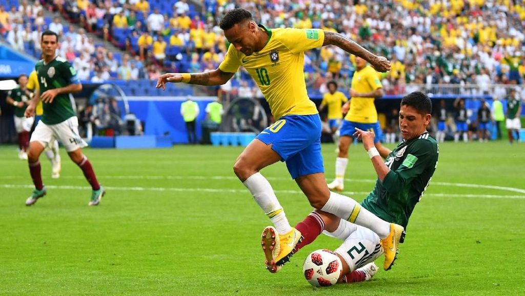 Video Highlights Babak I Brasil Vs Meksiko