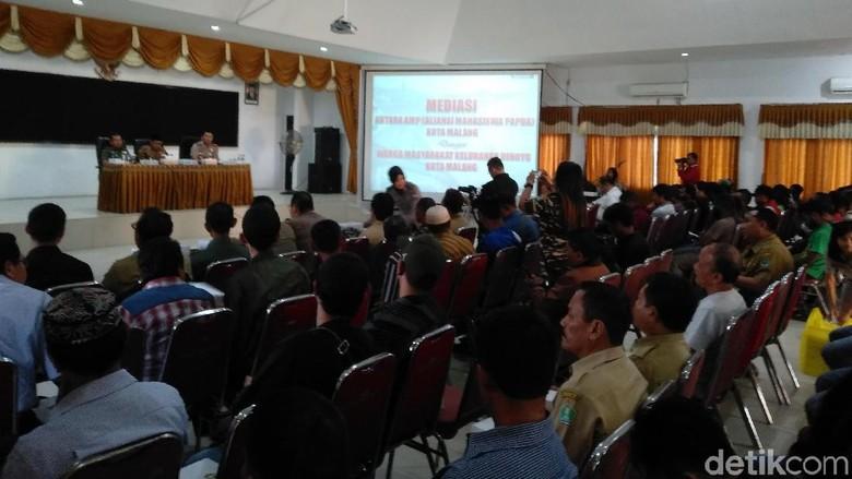 Imbas Ricuh, Polres Malang Gelar Mediasi Mahasiswa Papua dan Warga