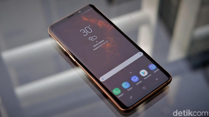 Galaxy S9. Foto: Adi Fida Rahman/detikINET