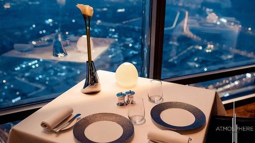 5 Fakta Unik Tentang At.mosphere, Restoran Mewah di Gedung Tertinggi di Dunia