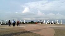 Pj Walkot Makassar Tutup Pantai Losari demi Cegah Corona