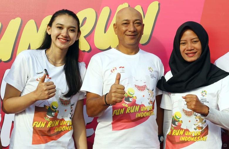 Fun Run 2018, Dukung dan Promosikan Asian Games