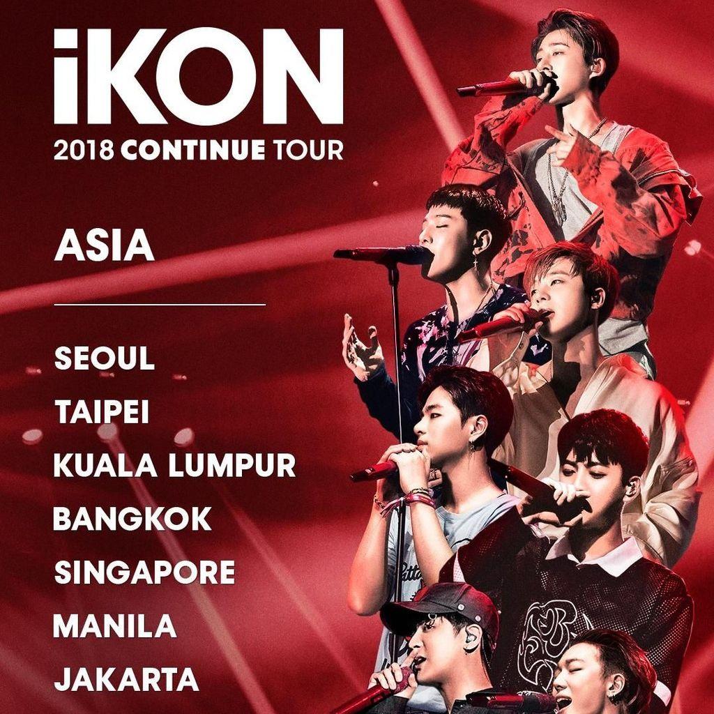 Hore! iKON akan Kembali Gelar Konser di Jakarta
