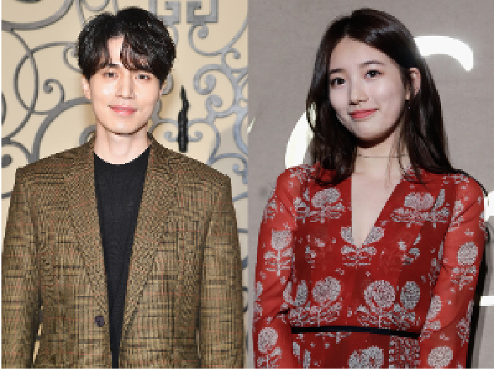 Foto: Suzy dan Lee Dong Wook (dok. Getty Images)
