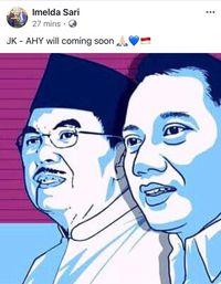 PKB Tak Minat Dukung JK-AHY, Fokus Usung Jokowi-Cak Imin