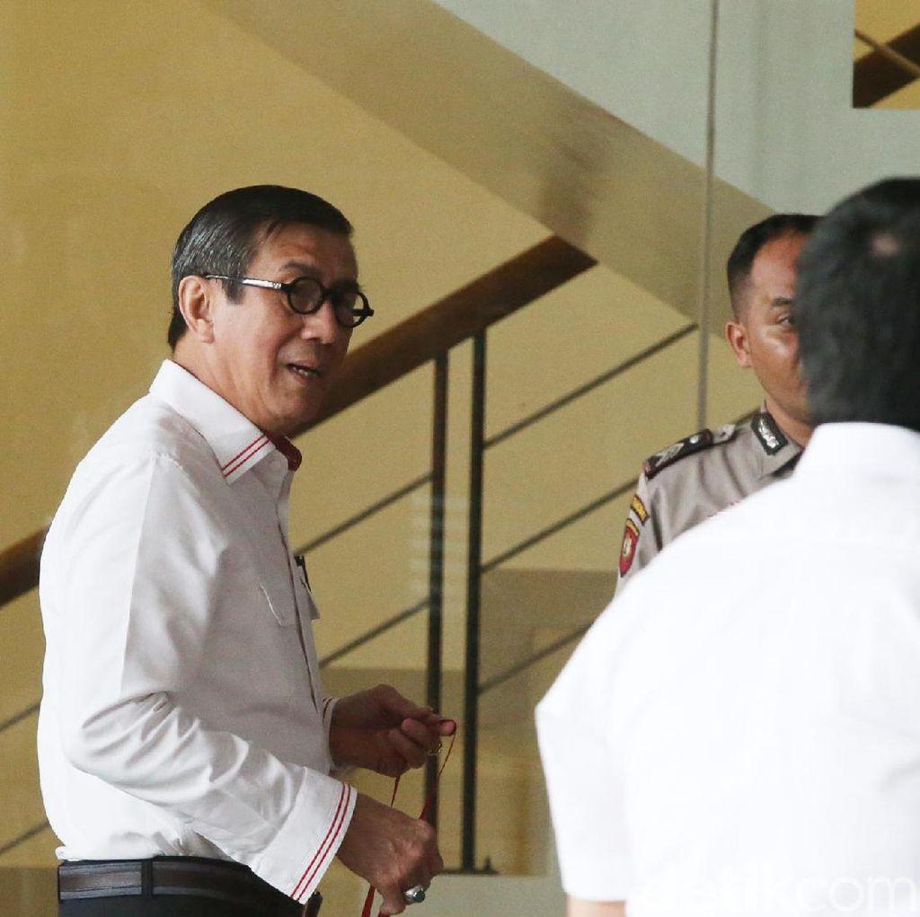 Desakan Copot Menkum HAM Soal OTT Sukamiskin Dijawab Istana